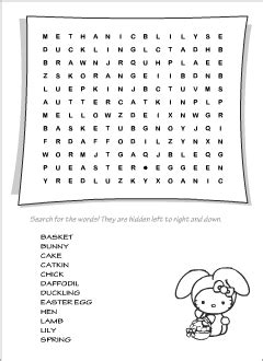 easter vocabulary  kids learning english overview