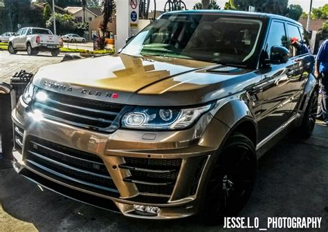 lumma design range rover clr rs spotted  south africa