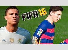 Real Madrid Barcelona FIFA 16 Santiago Bernabeu