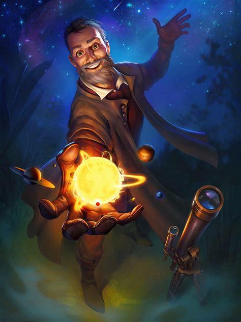 galileo galilei  stem epic heroes  behance