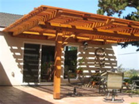 casa de oro patio cover view of mt helix