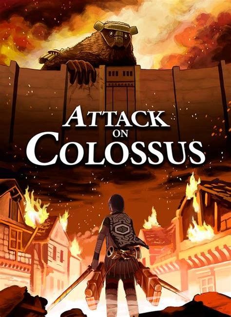 Shadow Of The Colossus On Attack Titan Anime