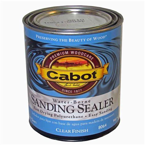 cabot water borne sanding sealer  series capitol