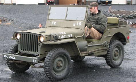 willys army jeep jeep kodiak military history 1945 willys mb jeep