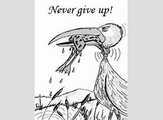 Never Give Up Inspirational Poster Freeology