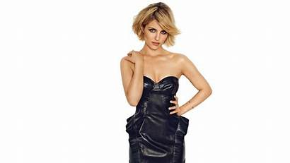 Dianna Agron Leather Blonde Actress Wallpapers 4k