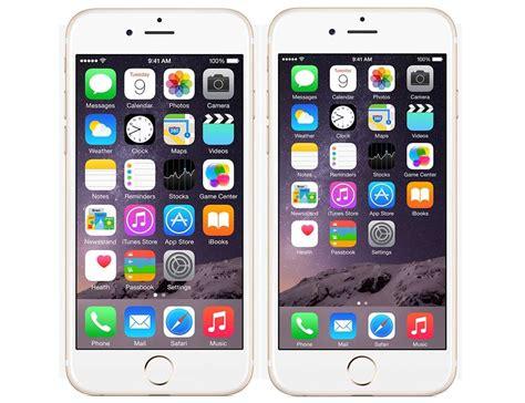 iphone identifier nowe iphone y 6 posiadają opcję zmiany wielkości ikon