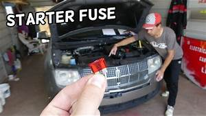 Lincoln Mkx Starter Fuse Location Replacement  Lincoln Mkx