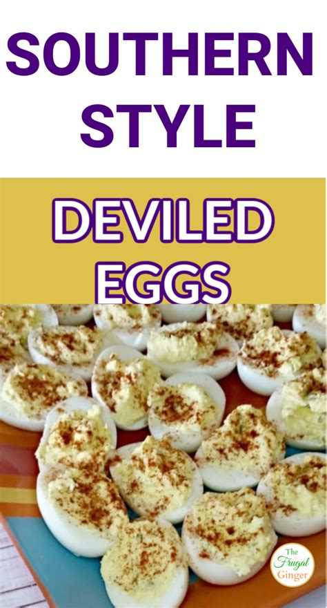 Soul food this menu stems fromto create several meals; Southern Style Deviled Eggs Recipe: Perfect Easter Side Dish | Fun easy recipes, Easter side ...