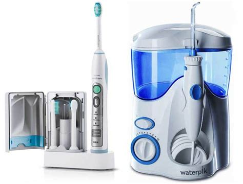 Which Is Best: A Sonic Toothbrush or Water Flosser