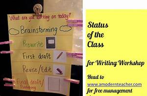 Classroom Freebies Too  Writing Workshop Status Of The