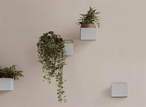 Blumentopf Für Die Wand : ferm living kleiner blumentopf f r die wand hellgrau die pampi ~ Eleganceandgraceweddings.com Haus und Dekorationen