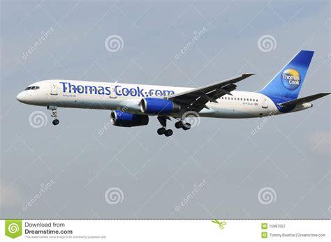 Thomas Cook Boeing 757 Het UK Redactionele Fotografie ...
