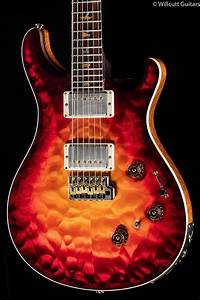 Prs Private Stock 6464 P24 Dragon U0026 39 S Breath Glow