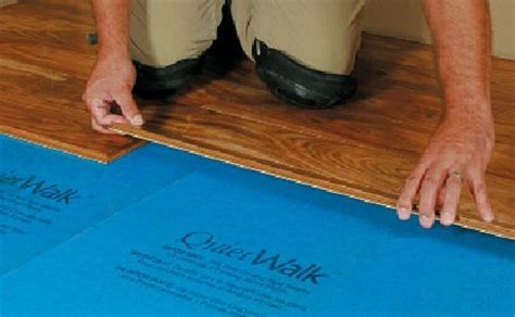 Hardwood Flooring Underlayment   Non Toxic, Effective