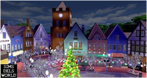 town  christmas version  simsdelsworld sims