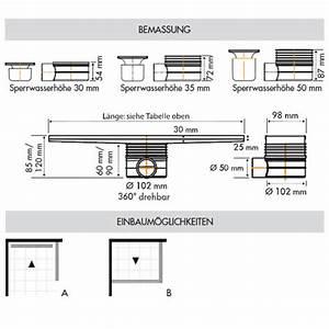 Ess Easy Drain : ess easy drain multi fliesenrinne l 150 cm edt1500 50 ~ Orissabook.com Haus und Dekorationen