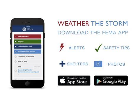 fema mobile app readyandsafemtgov readyandsafemt