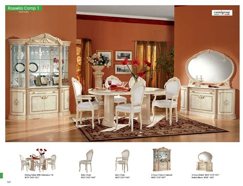 Rossella Dining Comp 1 Classic Formal Dining Sets Dining