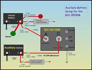 Battery Isolator Combiner  Bic