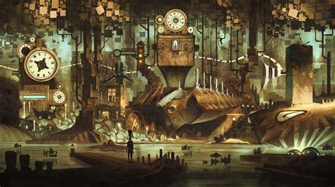 steampunk  ultra hd wallpaper background image