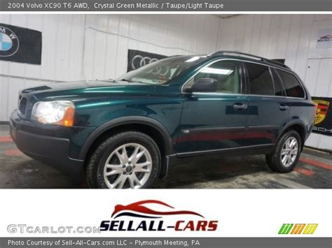 crystal green metallic  volvo xc  awd taupe