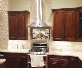 Subway Tile Backsplash with Dark Cabinets