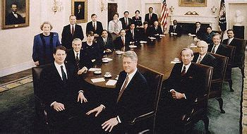 Bush Administration Cabinet by The Clinton Cabinet In 1993