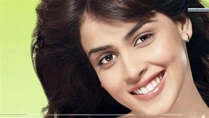 Genelia Souza Face Wallpapers Dsouza Smiling Closeup