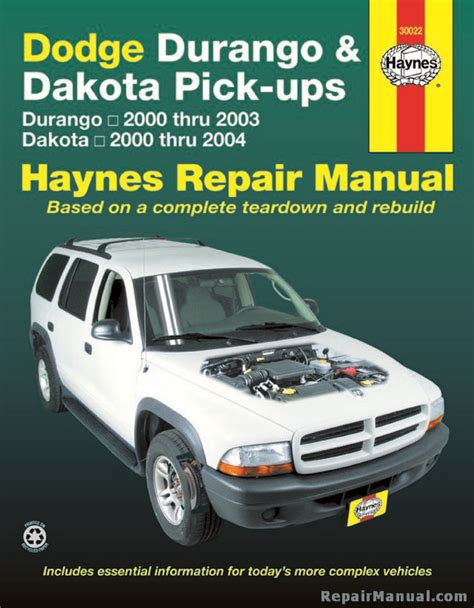 2003 dodge dakota service repair manual download download manu dodge durango 2000 2003 dakota 2000 2004 haynes repair manual