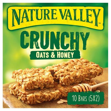 nature valley oats  honey nutrition label