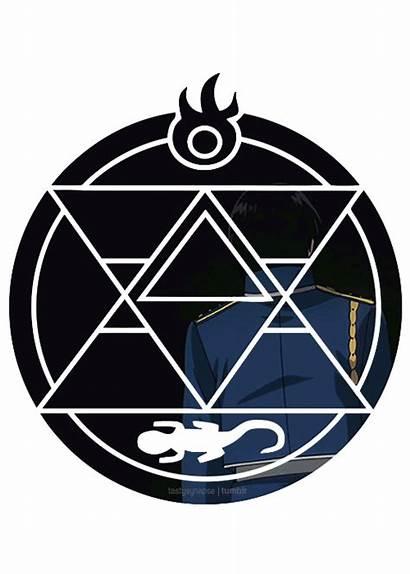 Roy Mustang Fullmetal Alchemist Brotherhood Metal Edward