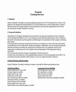 Cleaning Proposal Template Word 26 Service Proposal Examples In Pdf Ms Word Pages