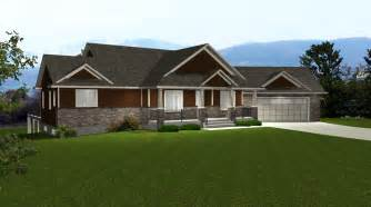 ranch house plans with open floor plan house plans with angled garage by edesignsplans ca 2