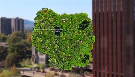 places  drop  umass   fortnite map