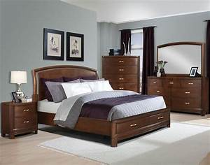 Wall Color For Bedroom With Brown Furniture - Home Combo