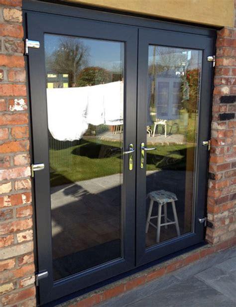 grey upvc windows anthracite grey woodgrain foiled