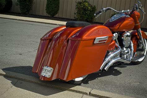 bagger yamaha custom kit star road parts baddad saddlebag bad baggers dad bracket motorcycles softail motorcycle kits raider king bike