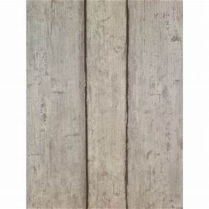authentic vlies tapete 6827 10 holz wand bretter grau mit With markise balkon mit tapete wand