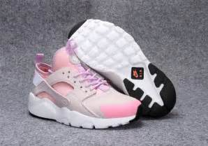 Pink Black and White Huaraches
