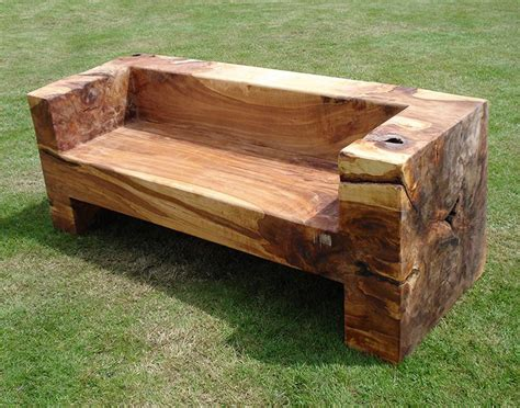 wood log bench treet bench 09 ideas for the house bench