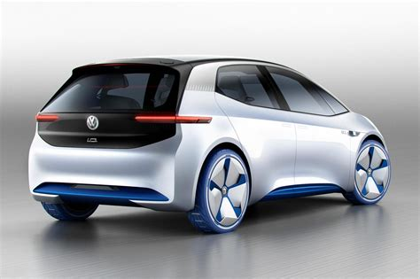 visionary id heralds vws  electric future  car