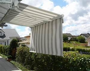 preiswerte markisen fur terrasse und balkon roomidocom With markise balkon mit tapeten ideen wohnzimmer grau