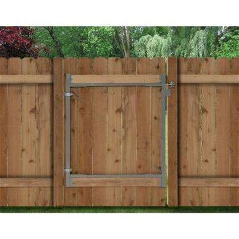 home depot fence sections adjust a gate fencing parts accessories fencing