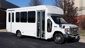 2016 Ford Starcraft 12 Passenger 2 Wheelchair Spaces Bus