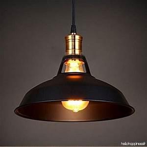 Luminaire Industriel Vintage : glighone suspension luminaire industrielle r tro vintage e27 plafonnier eclairage lustre edison ~ Teatrodelosmanantiales.com Idées de Décoration