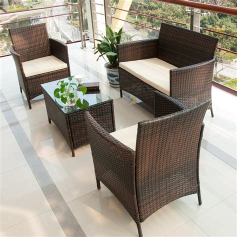 outdoor wicker table and chairs best outdoor patio furniture beachfront decor