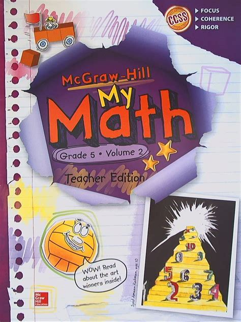 Mcgraw Hill My Math Grade 4 Answers  Mcgraw Hill My Math Products For Grades Prek 5 Digital