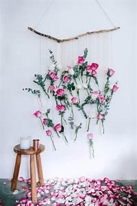 Duschvorhang Selber Machen : diy rosen wand h ngen deko pinterest w nde rose und diy inspiration ~ Sanjose-hotels-ca.com Haus und Dekorationen