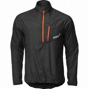 Race Elite 70 Windshell Running Smock Black/Orange Mens at ...